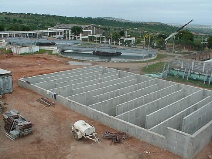 Construction of major water treatment plant in Ghana nears completion