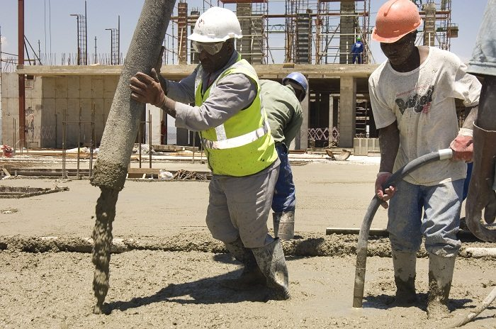 Does the rising cement consumption reflect the construction industry growth in East Africa?