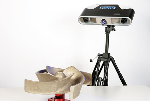 FARO® launches Smart 3D imager arrays