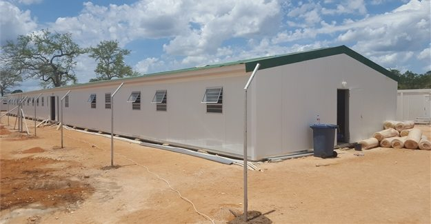 Kwikspace Modular in housing supply at ROMPCO site