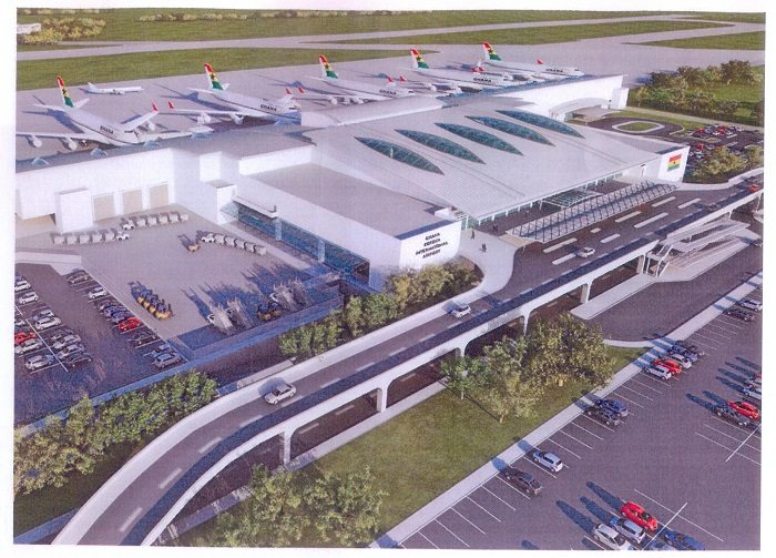Construction work on new terminal at Kotoka airport in Ghana begins