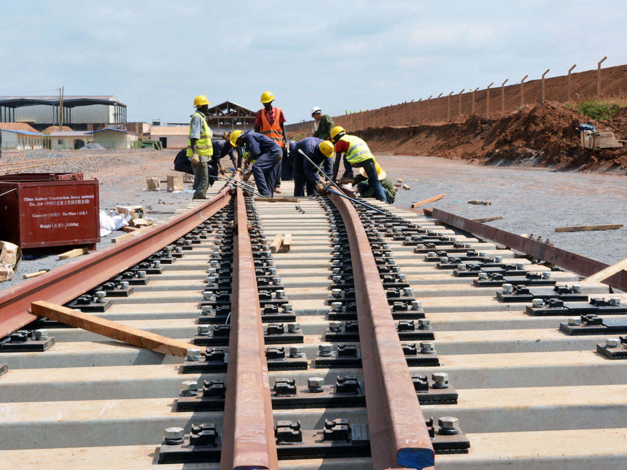 SGR construction project in Kenya finally taking shape