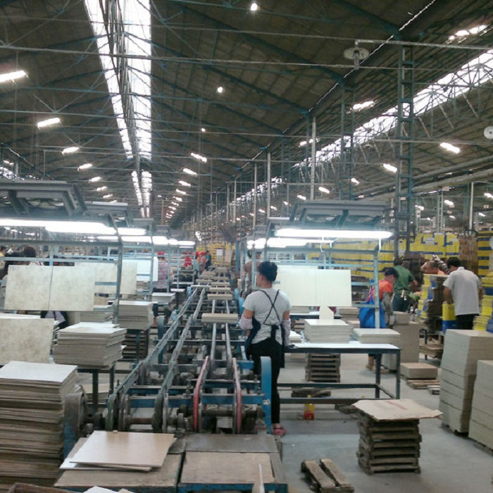Newly constructed ceramic factory in Ghana to start operation August