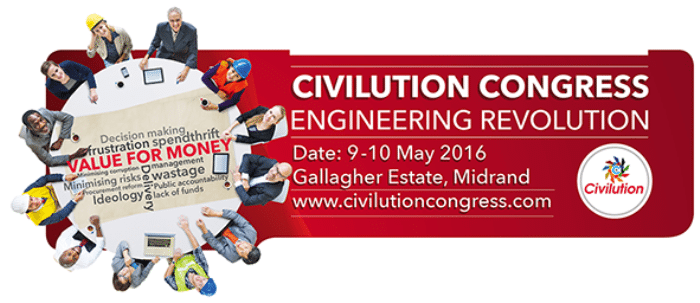 Engineering industry movers and shakers set to convene at the Civilution Congress 2016 - #JoinTheMovement