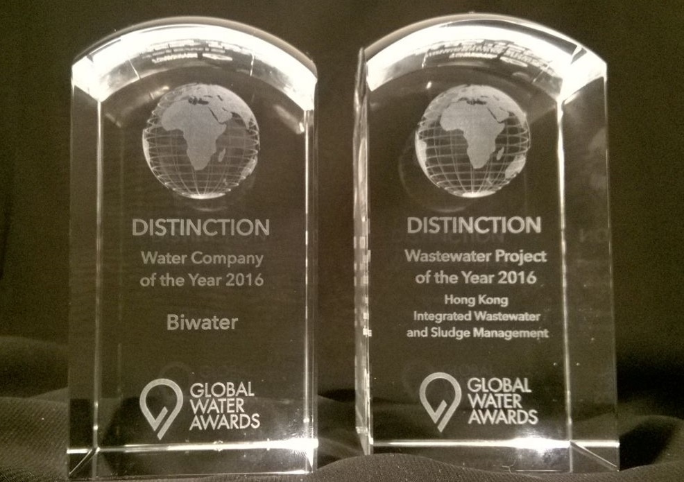 Biwater Presented with Leading Industry Awards at the 2016 Global Water Awards