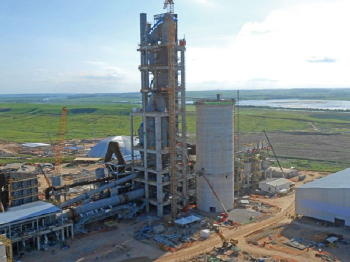 Huge Cement Plant : Construction of major cement plant in zimbabwe nears