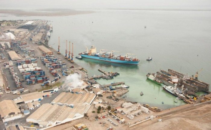 Major port construction project in Namibia on track
