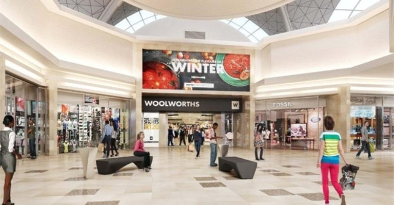 East Rand Mall In South Africa Revamped