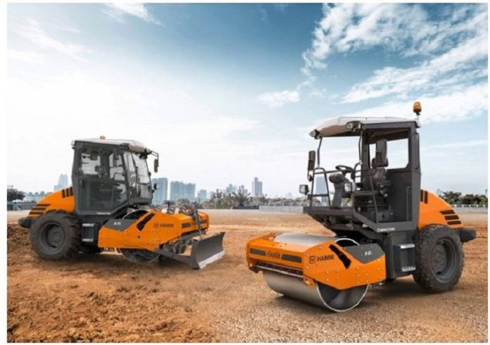 HAMM unveils compact climbers for earthworks