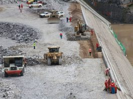 Contractor resumes work on dam construction project in South Africa