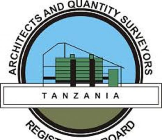 Architects and Quantity Surveyors Registration Board in Tanzania invites contractors for a tailor made training
