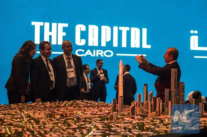 Chinese Firms Boost Construction Of New Egypt Capital