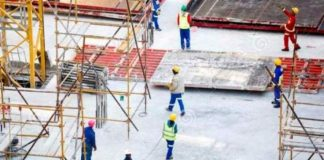South Africa's labor ministry raises alarm over risky construction