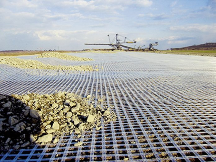 SOIL REINFORCEMENT WITH GEOGRIDS