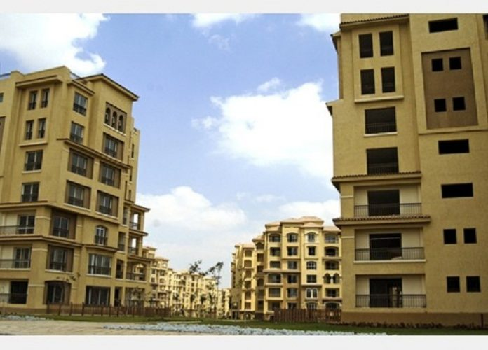 State subsidized housing units in Egypt constructed