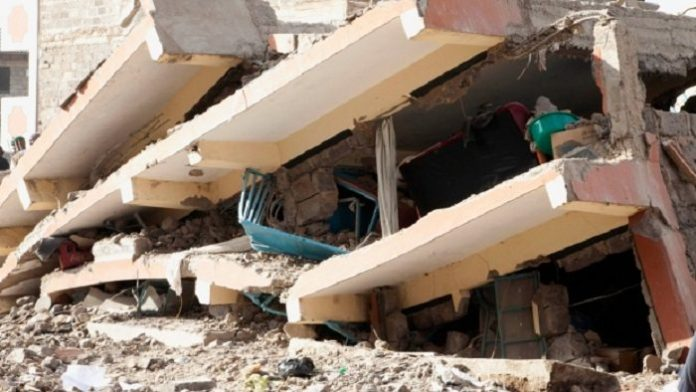 Top Five reasons why buildings collapse in Africa