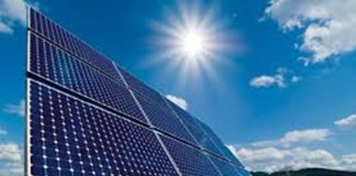 Solar installation at 382 Jan Smuts avenue in South Africa