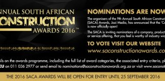 2016 South African Construction Awards