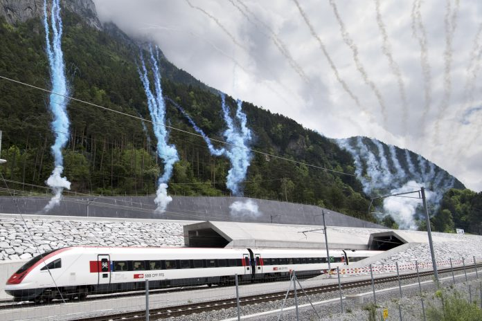 Switzerland opens longest and deepest tunnel in the world