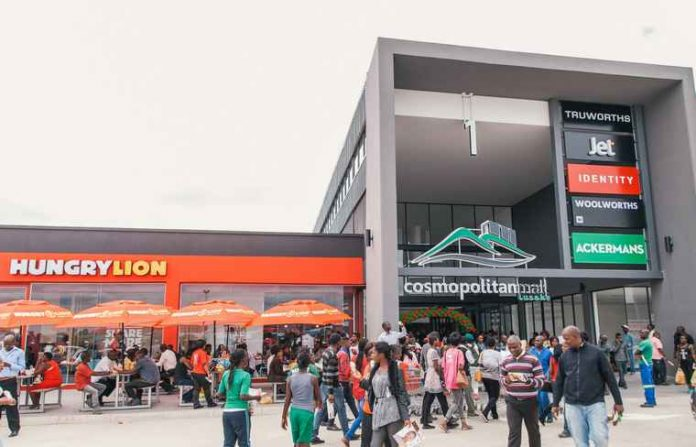 Zambia:Mara Delta acquires 50% stake in Cosmopolitan shopping mall
