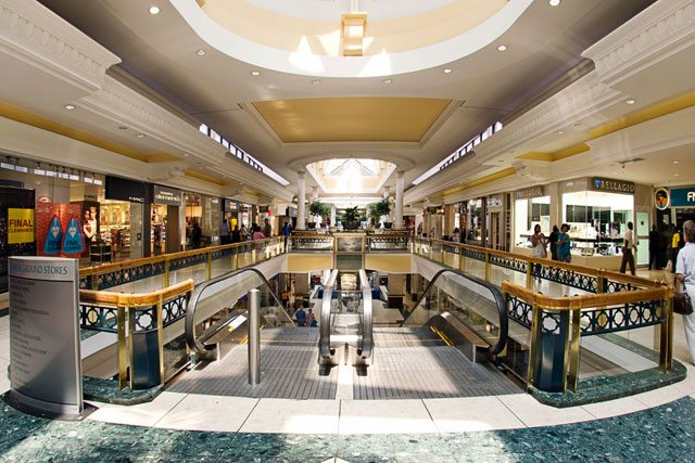 Development of shopping malls in South Africa declines