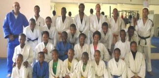 Japanese Embassy in Botswana funds Dojo construction