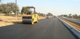 Construction of roads in Rwandan town nears completion
