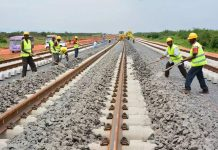 South Africa to construct a standard gauge railway track