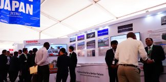 Toshiba Corporation showcases ability to provide energy solutions in Africa