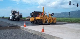 Construction of concrete roads in Nigeria begins