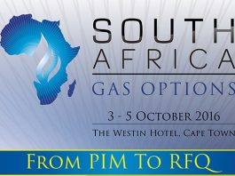 The South Africa Gas Options