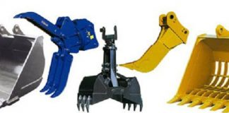 Top 5 manufacturers of excavator attachments