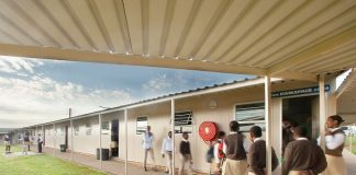 South African firm Kwikspace erects 2 000 prefabricated classrooms to tame overcrowding