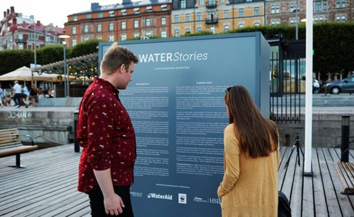 South Africa opens water exhibition stand in Stockholm