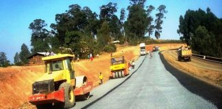 Construction of major roads in Angola kicks off