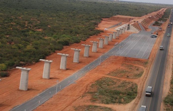 Kenya says construction of Standard Gauge Railway line to continue