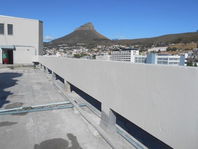 Sika treatment for cape town's 27 Wale Street