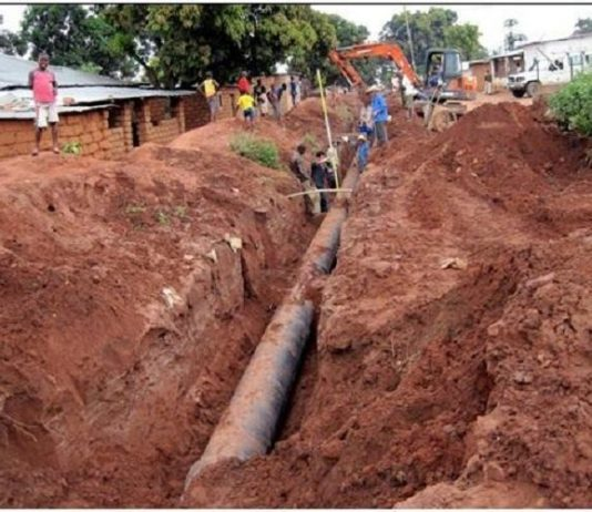 Efforts to expand drinking water supply Network in Angola gains pace