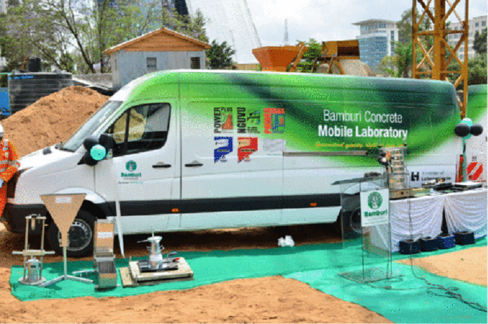 NCA to use Bamburi mobile concrete labs for onsite testing of materials