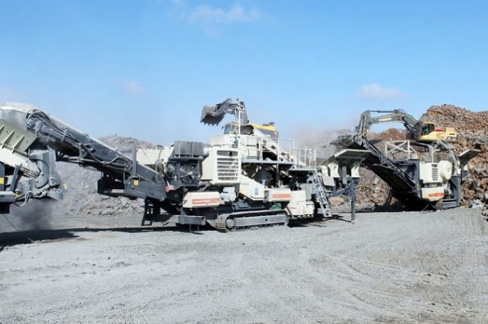 B&E International breaks 550 tph with Metso Mobile products