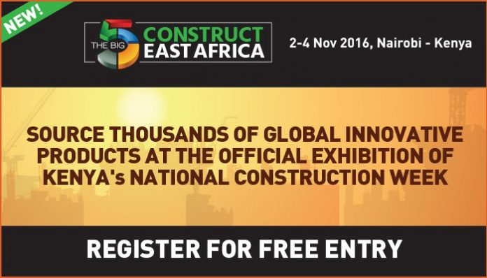 Big 5 Construct East Africa: Over 150 companies from over 20 countries showcase unique and innovative construction products