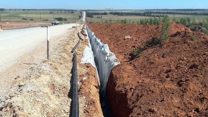 Kaytech solves drainage problem in Mpumalanga Road