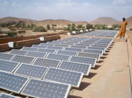 Totota Solar power light plant in Liberia launched