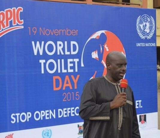 Harpic Partners with Lagos on toilet hygiene and improved sanitation