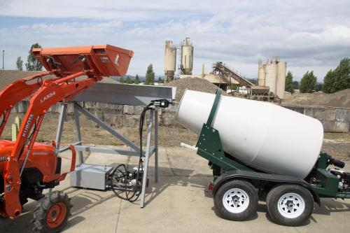 Cart-Away introduces Mini Belt Loader for Small Concrete Batching