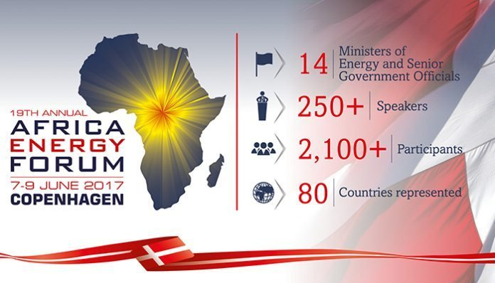 The 19th Africa Energy Forum to welcome Africa's power sector leaders to Denmark in June 2017