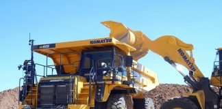 Komatsu unveils HD465-8 and HD605-8 off-highway trucks with more power, redesigned cab