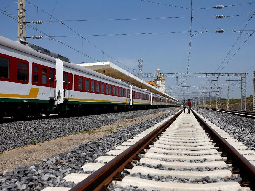 Official Completion Of 752km Addis Ababa Djibouti Railway