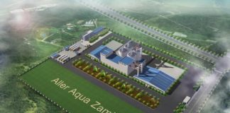 Construction of the fish feed factory in Zambia right on track