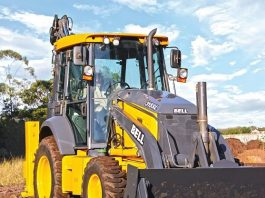 Bell Equipment launches tractor-loader-backhoe